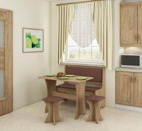 Ława kuchenna stół i taborety
