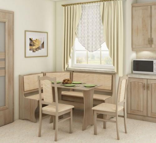 Narożnik kuchenny stół i krzesła