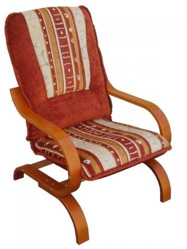 Fotel tapicerowany Finka