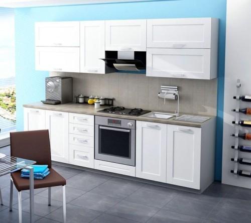 Pojedyncze szafki kuchenne białe Wenus