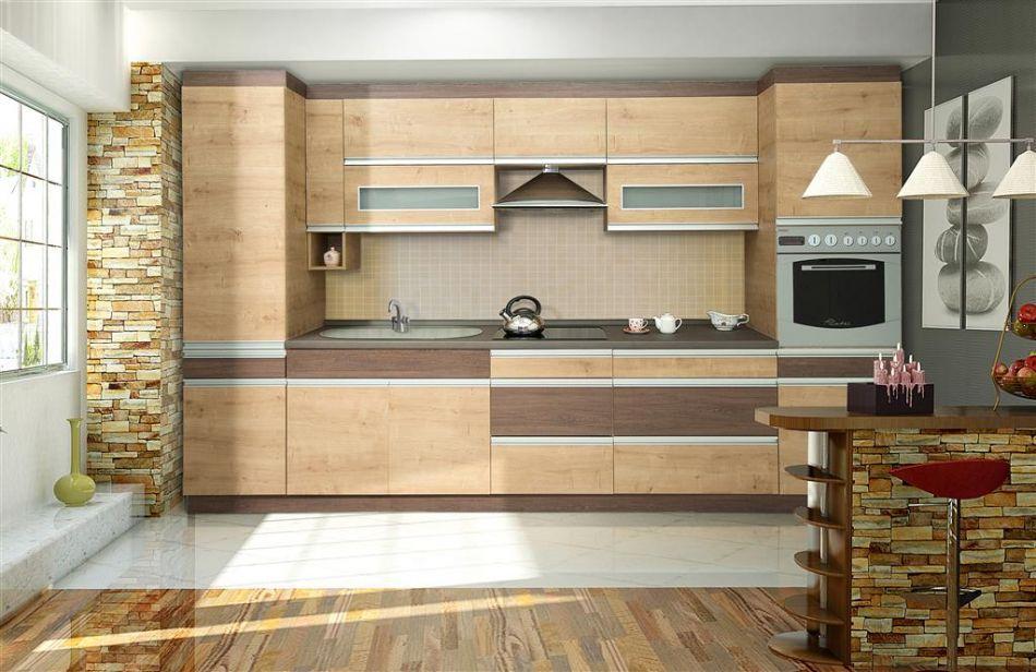 zestaw mebli kuchennych madera szerokoś� 350 cm plmeblepl