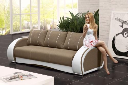 Wygodna sofa salonowa rozkładana Cher