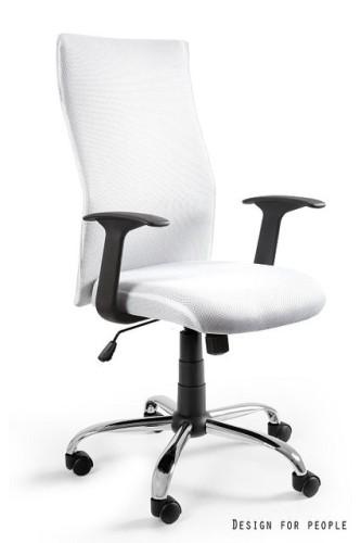 Fotel obrotowy Black on Black biały