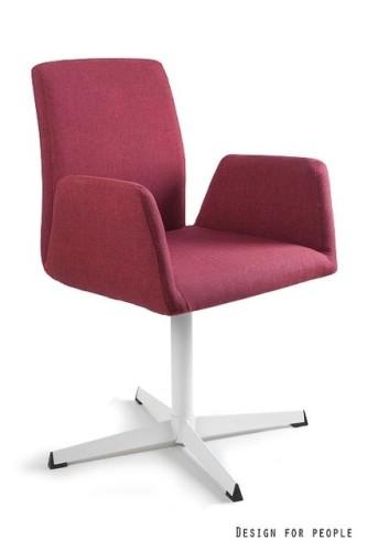 Fotel obrotowy Brava czerwony