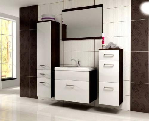 Meble łazienkowe białe Evo