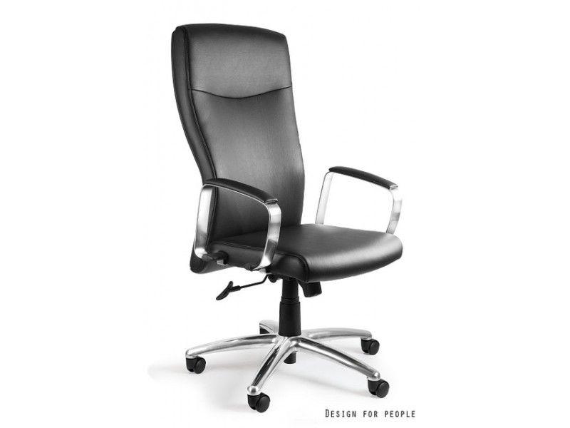 Fotel biurowy Adella skóra naturalna