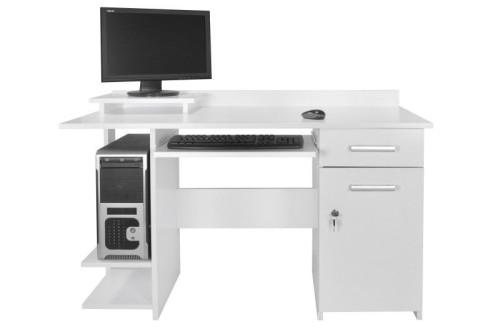 Biurko komputerowe na zamek Alfa