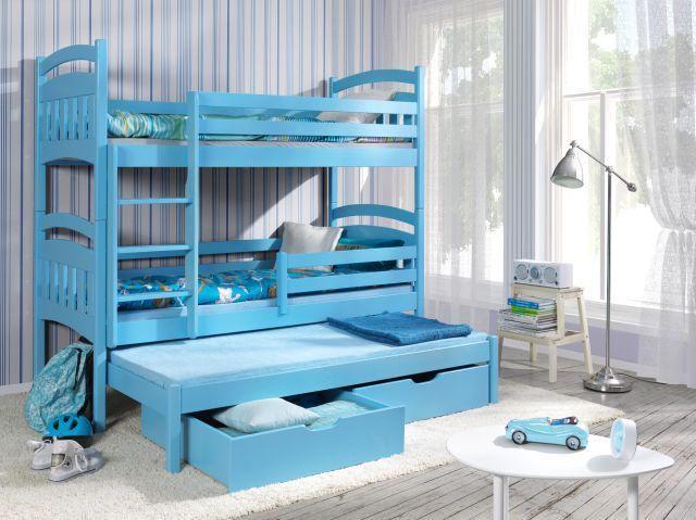 Łóżko piętrowe 3 osobowe Jakub