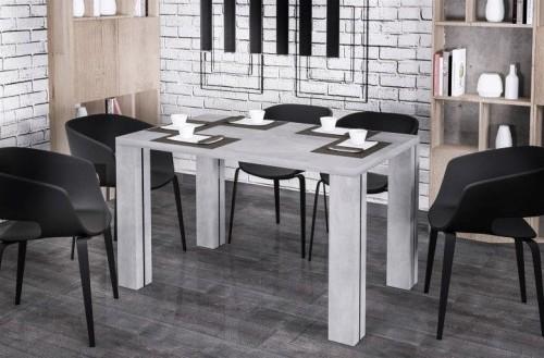 Biały stół kuchenny rozkładany Nisa