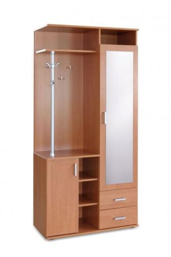 Przedpokój garderoba z lustrem i wieszakiem Kaja 3