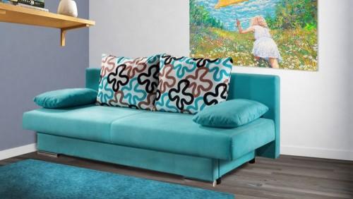 Salonowa sofa rozkładana