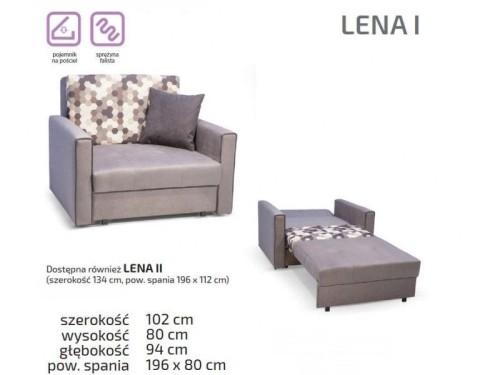 Rozkładany fotel do spania dla dziewczyny