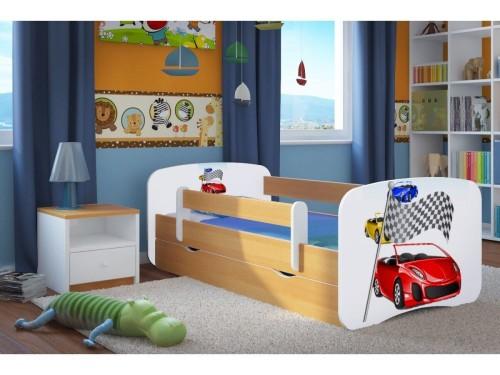 Łóżko dla chłopca Ferrari