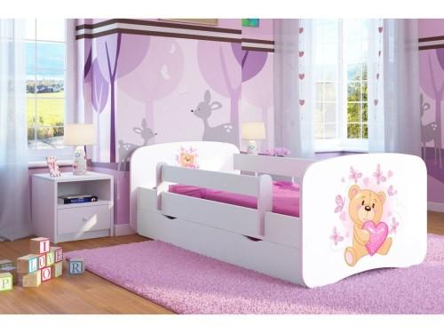 Łóżko w pokoju chłopca i dziewczynki