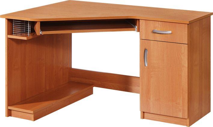 Biurko komputerowe naro ne carmen plmeble pl for Holz computertisch