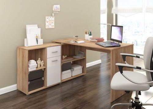 Ładne biurko narożne