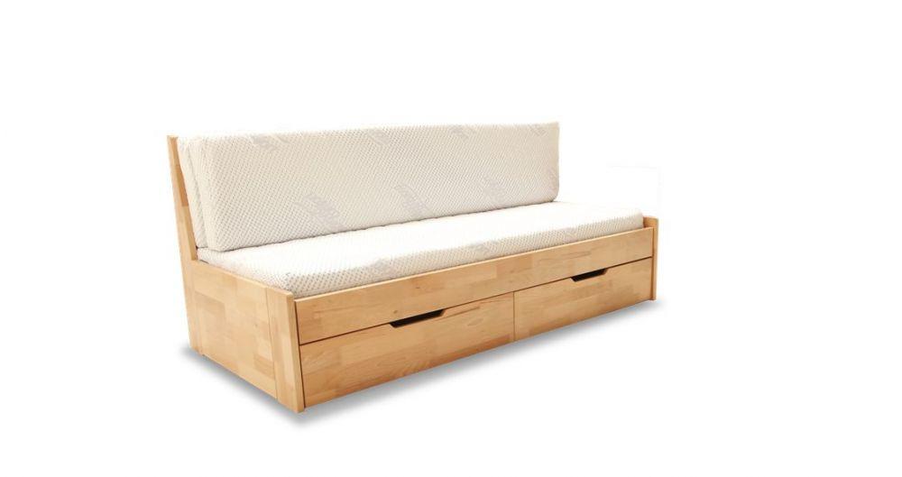 Rozkładane Drewniane łóżko Dwuosobowe Mebel Do Słodkich