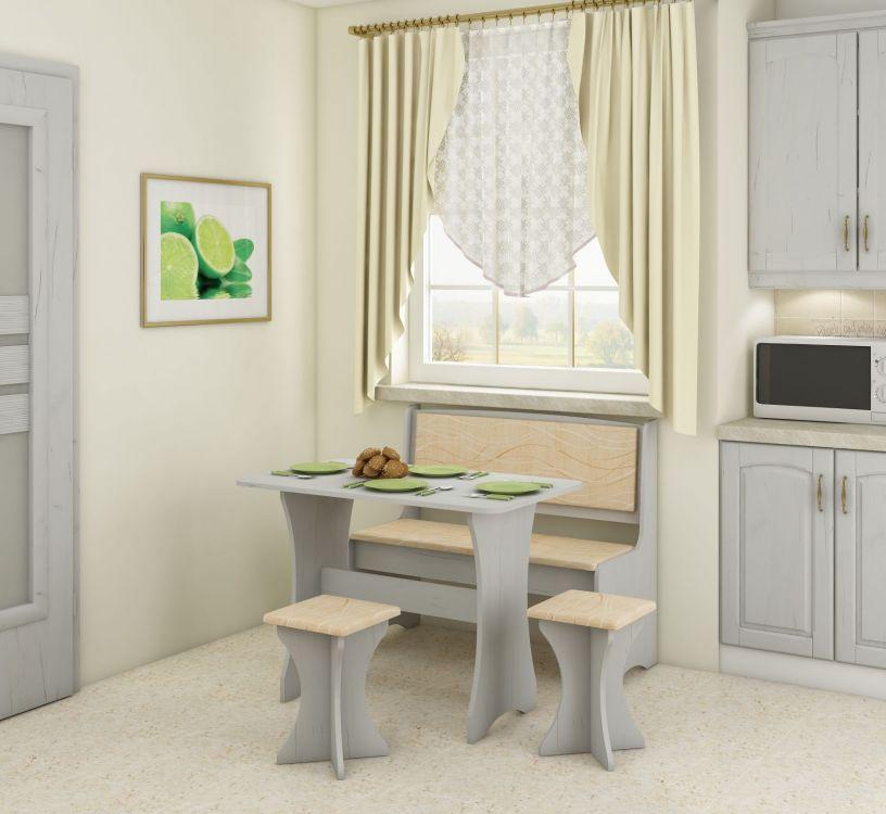 Kuchenna ławka stół i taborety
