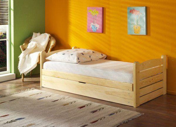 Łóżko parterowe z materacem Ola