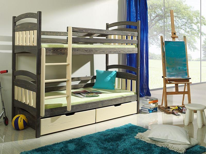 Dwuosobowe łóżko piętrowe Jakub