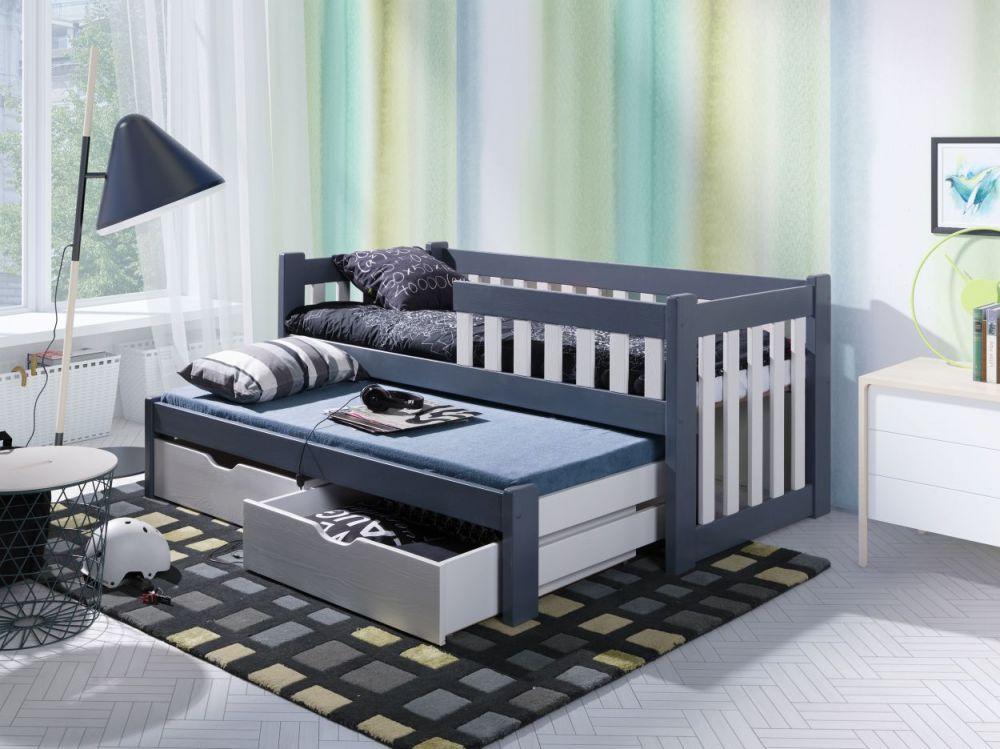Łóżko parterowe 2 osobowe Filip