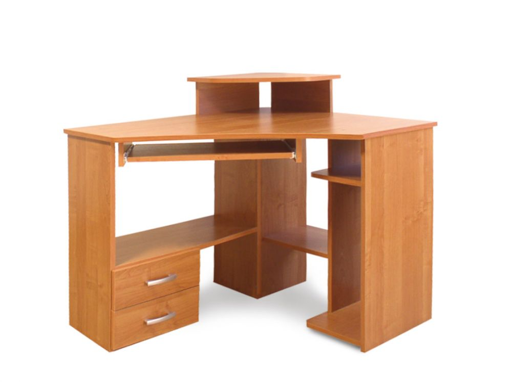 Biurko komputerowe z nadstawką 55
