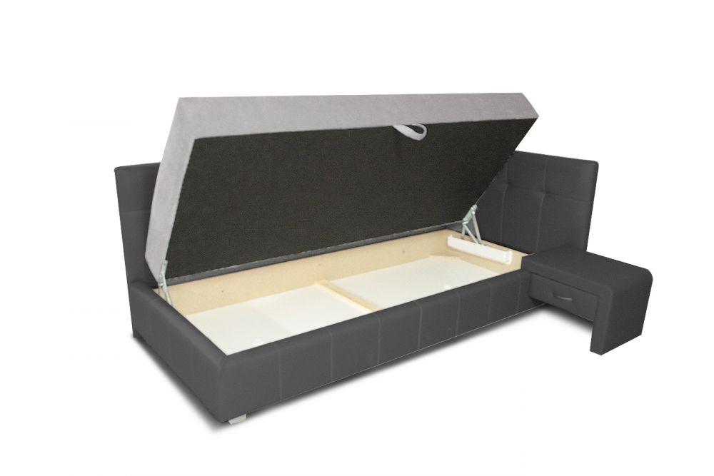 łóżko Tapicerowane Vanessa Plus Z Materacem Plmeblepl
