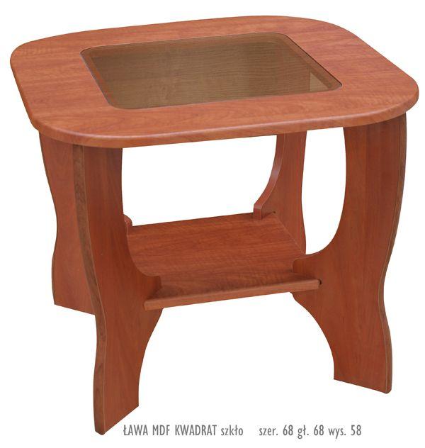 kwadrat stół kawowy