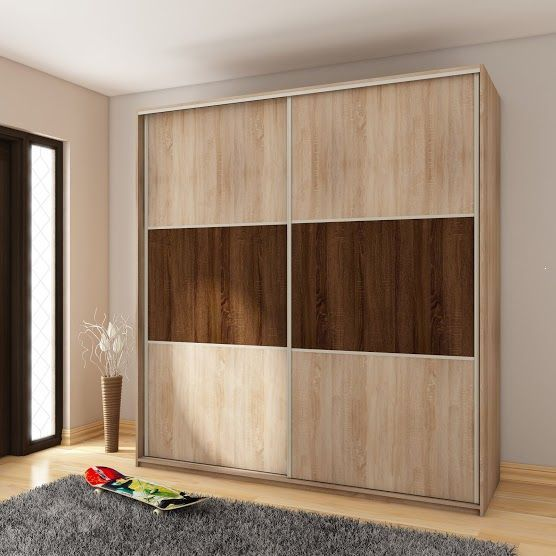 Bedroom Colour Catalogue Fitted Bedroom Cupboards Bedroom Paint Ideas Images Bedroom Decor Pom Poms: Szafa Przesuwna Z Lustrami Maja 3 Dąb Sonoma 180 Cm