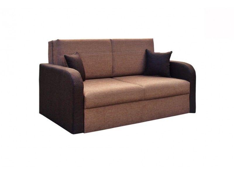 sofa w kolorze brąz