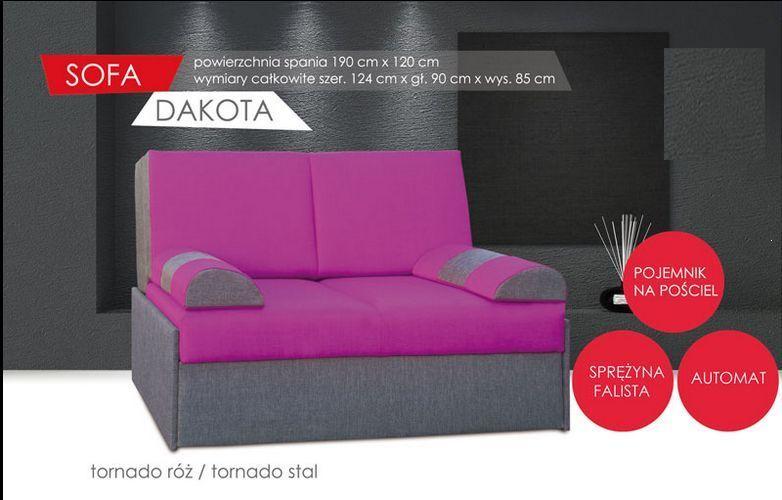 Fotel rozkładany 2 osobowy Dakota