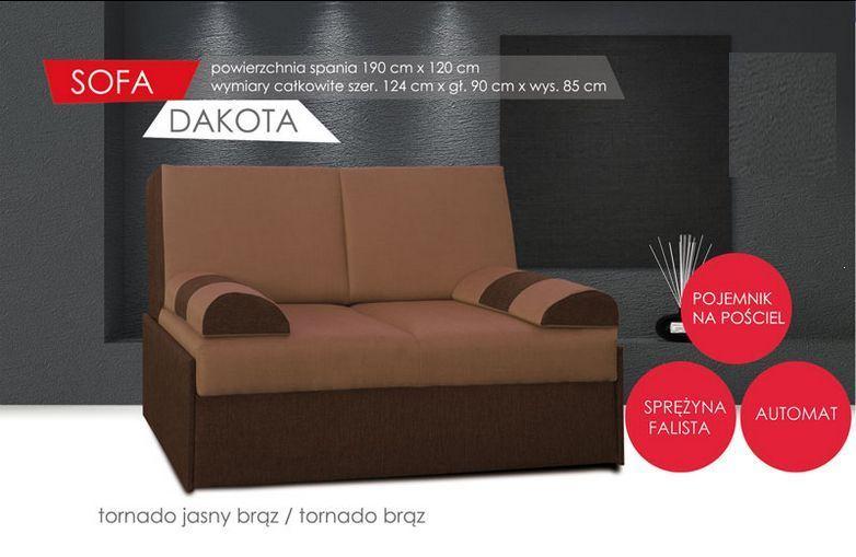 Wielofunkcyjna kanapa młodzieżowa dla chłopaka Dakota 2 osobowa