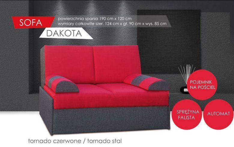 Sofa młodzieżowa rozkładana 2 osobowa Dakota