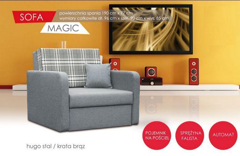 Fotel rozkładany Magic