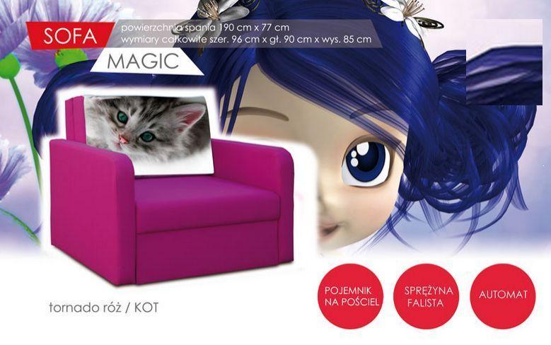 Sofa dla dzieci Magic