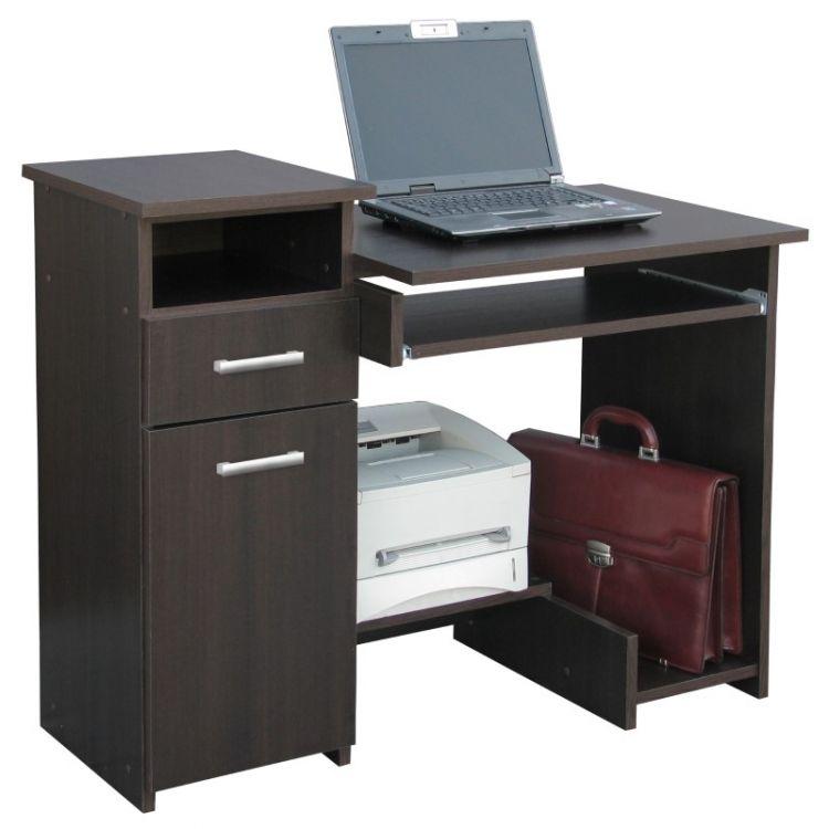 Biurko komputerowe z szafka szufladą i nadstawką 35