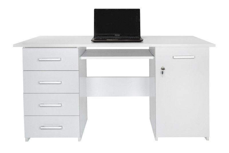 Biurko komputerowe z szufladami