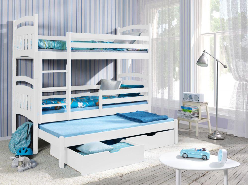 Łóżko piętrowe chłopięce