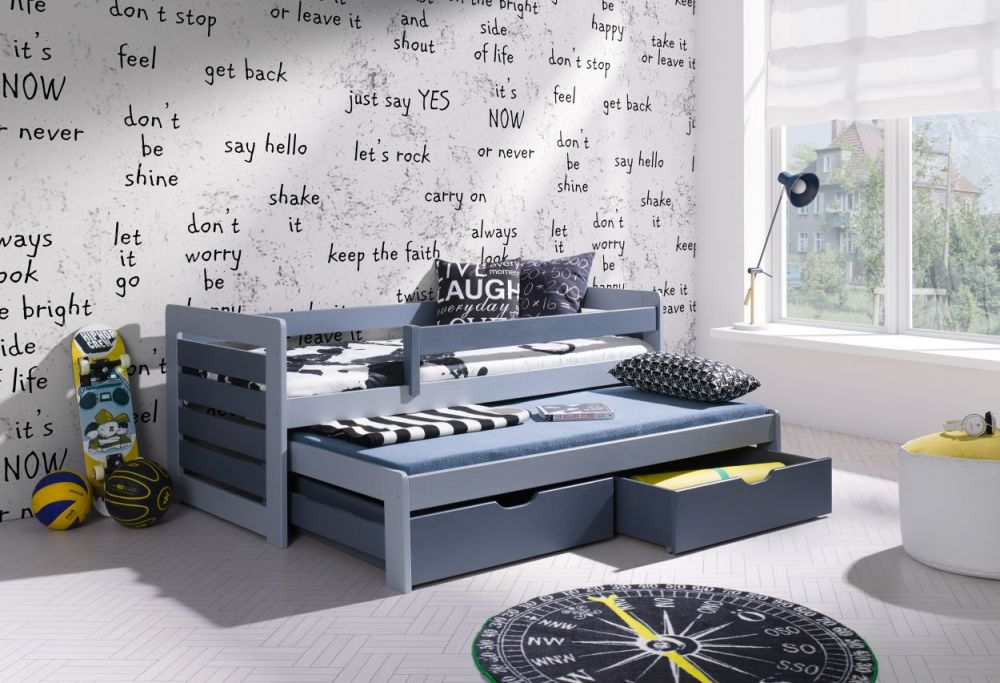Dwuosobowe łóżko parterowe Tomasz