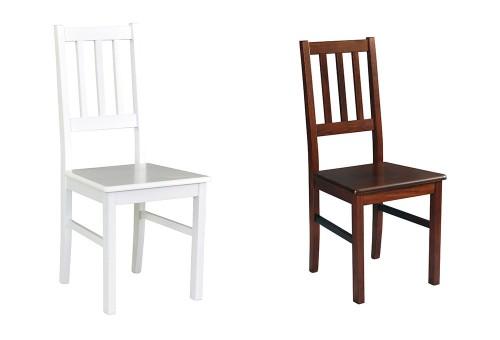 Drewniane krzesła do jadalni Boss