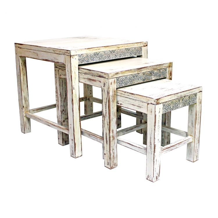 Postarzane stoliki