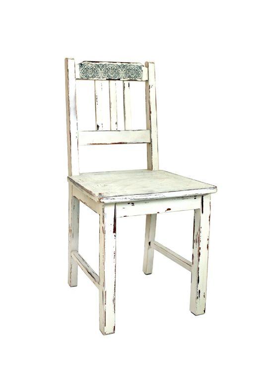 Postarzane krzesło