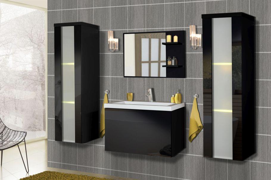 Zestaw Mebli łazienkowych Centra Połysk Plmeblepl