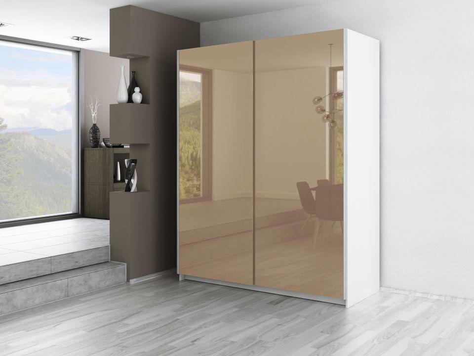 Szafa Drzwi Przesuwne Malaga 170 Cm Połysk Różne Opcje