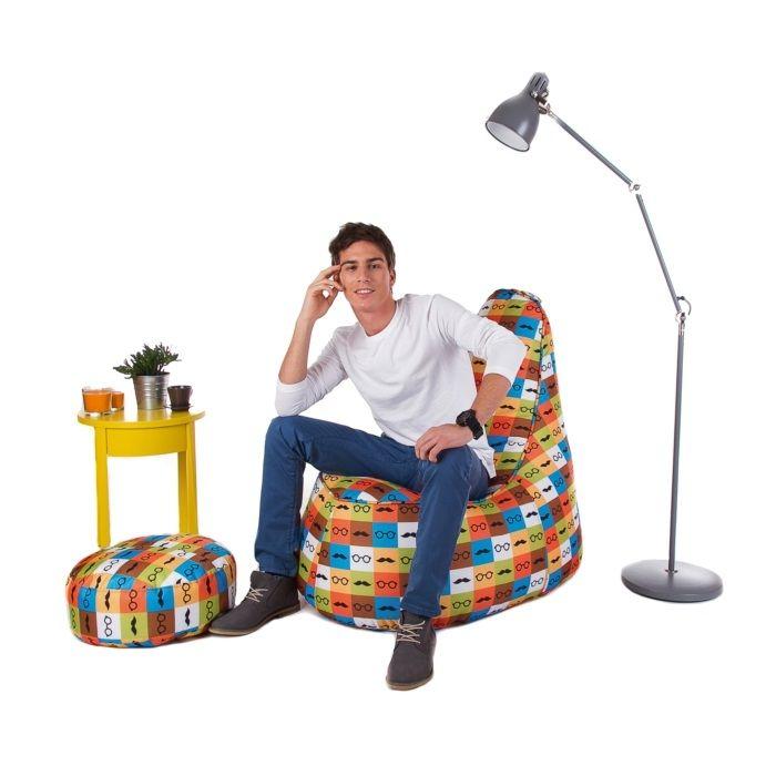 Worek tapicerowany fotel