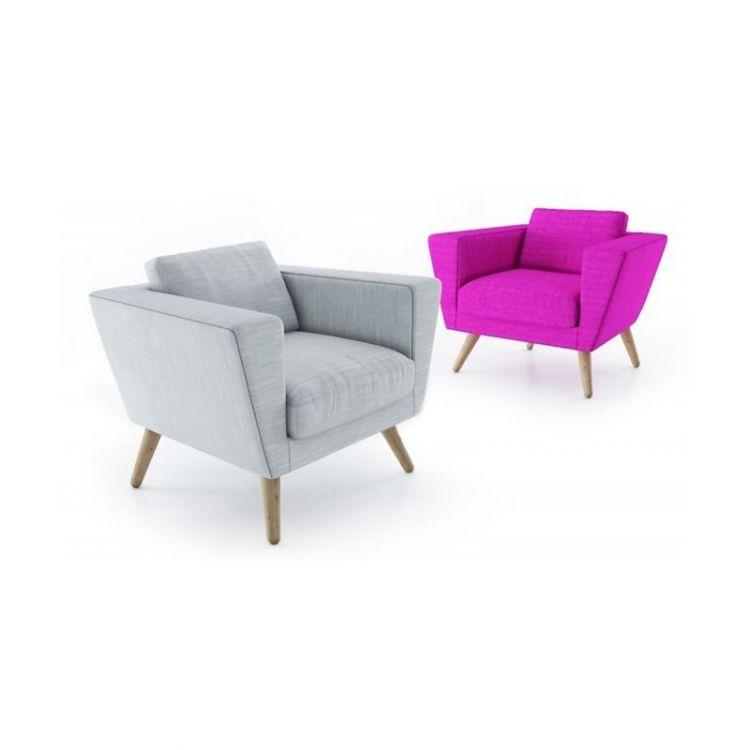 Fotel nowoczesny tapicerowany Alta