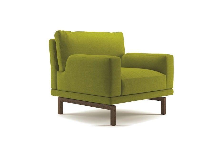 Tapicerowany fotel nowoczesny Torano