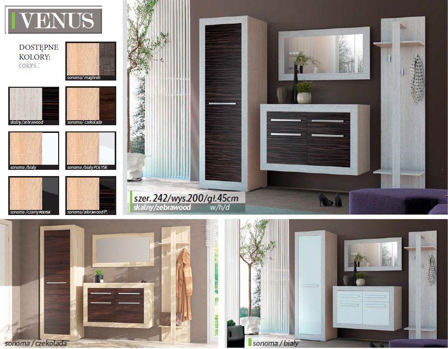 Garderoba dla waskiego przepokoju Venus