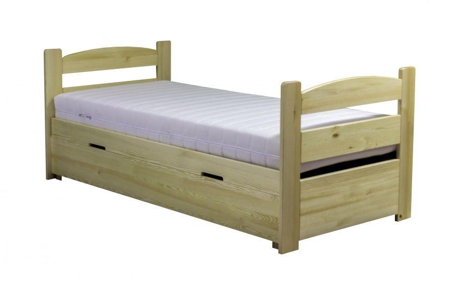 łóżko Sosnowe Z Pojemnikiem Maja 90200 Cm Plmeblepl