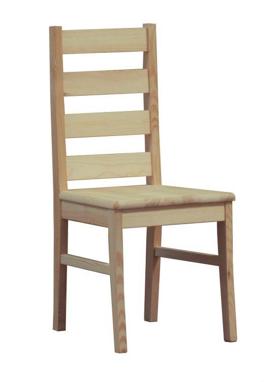 Kuchenne krzesło sosnowe Boston